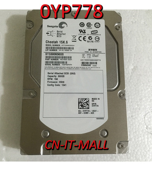 """Pulled 0YP778 YP778 ST3300656SS 300GB 15000 RPM 32MB Cache SAS 3.5"""" Internal Hard Drive"""