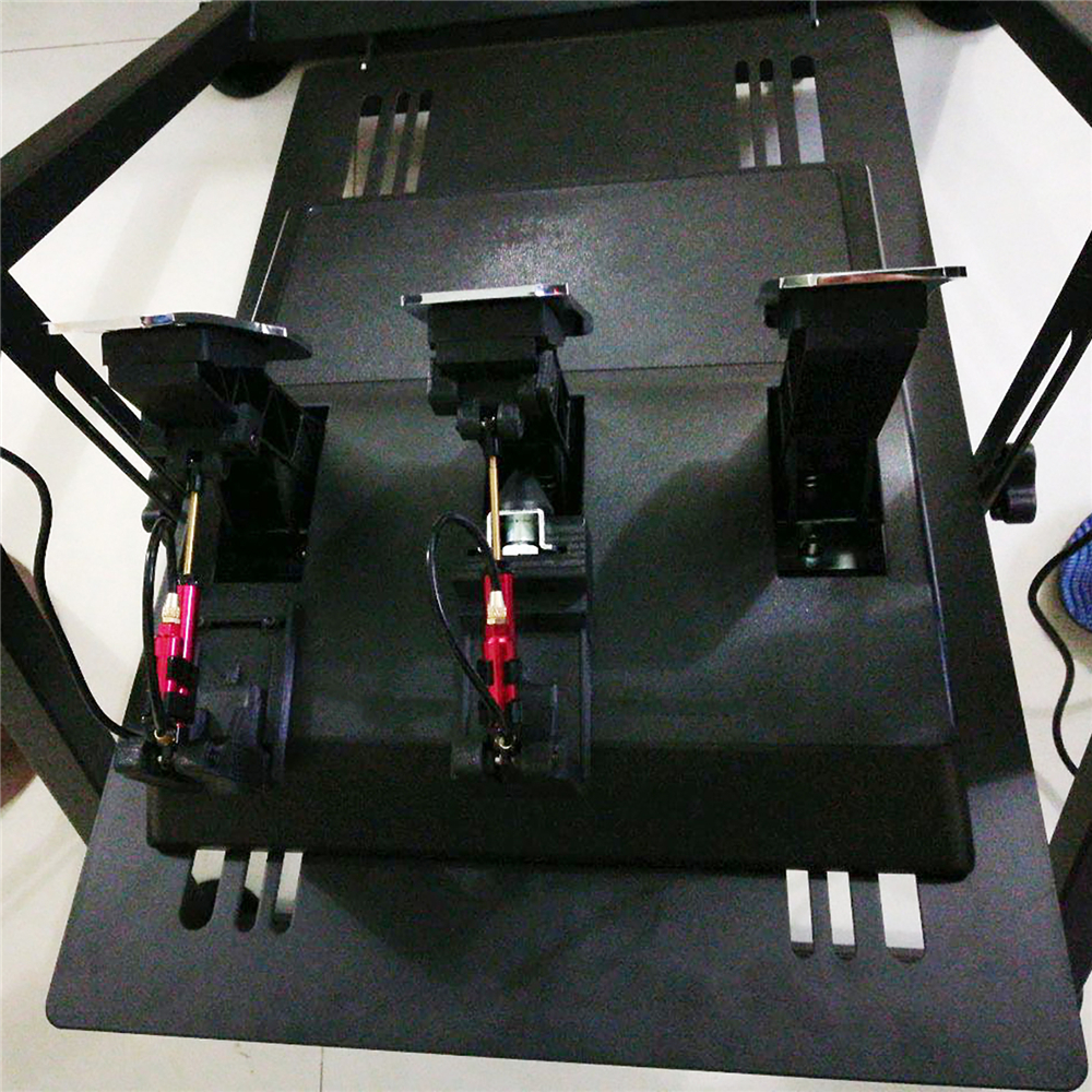 1 jeu d'amortissement de pédale d'embrayage de frein d'accélérateur Racing pour Thrustmaster T3PA/T3PA PRO Kit d'amortissement hydraulique spécial modifié - 5