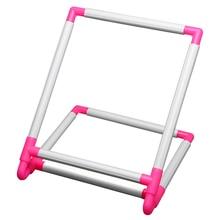 Вышивка рамка практичный универсальный зажим пластиковый крестиком надувной круг держатель Поддержка стойки Diy ремесло ручной инструмент