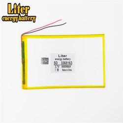 A bateria de íon de lítio do polímero 3368163 3.7v 5000mah 3070160 pode ser certificação por atacado personalizada da qualidade do ce fcc rohs msds