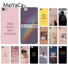 Harry Styles MaiYaCa Tratar As Pessoas Com Bondade doces Tampa Do Telefone de Design para iPhone 6 6S plus 7 7plus 8 8Plus X Xs MAX 5 5S XR 10(China)