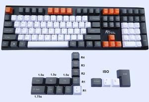 Image 3 - 124 key Spanish Layout European ANSI ISO ES OEM PBT Keycaps for Cherry MX Switches of Mechanical Keyboard Free Shipping