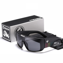 Dragon Windproof Shield Frame Reflective Coating Sunglasses