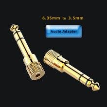 Разъем для динамика 35 штекер 635 мм на гнездо аудиоразъем кабель