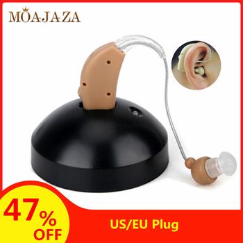 Akumulator do aparatów słuchowych dla osób w podeszłym wieku głuchota wzmacniacz dźwięku opieka zdrowotna aparat zauszny cyfrowy aparat słuchowy wtyczka do usa ue tanie i dobre opinie Moajaza Hearing Aids