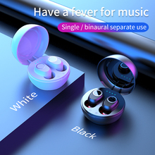 цена на LB-10 touch hands free Mirror earphone TWS 5.0 subwoofers headphone stereo waterproof earbuds Wireless bluetooth headset