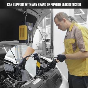 Image 5 - AUTOOL Adaptador de entrada rápida para máquina de humo, vejiga de entrada para Detector de fugas de humo SDT206, herramienta de diagnóstico, accesorio de Airbag