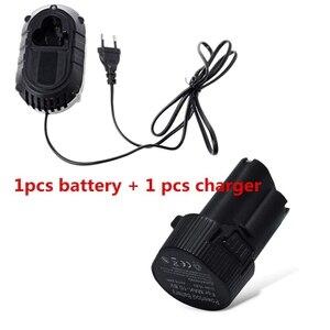 Image 3 - Carregador de bateria 3c quente para makita bl1013 df330d 12.6v baterias de lítio íon dc10wa dls homeful plugue da ue