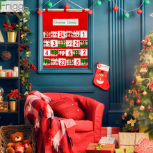 Non-woven Fabrics Christmas Calendar Bag 2019 Merry Decorations For Home Ornaments Xmas Gift 2020 New Year