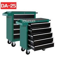 DA-25-caja de herramientas de 5 cajones para reparación de automóviles, kit de herramientas de mantenimiento de automóviles, carro, Hardware de taller, móvil, multifuncional