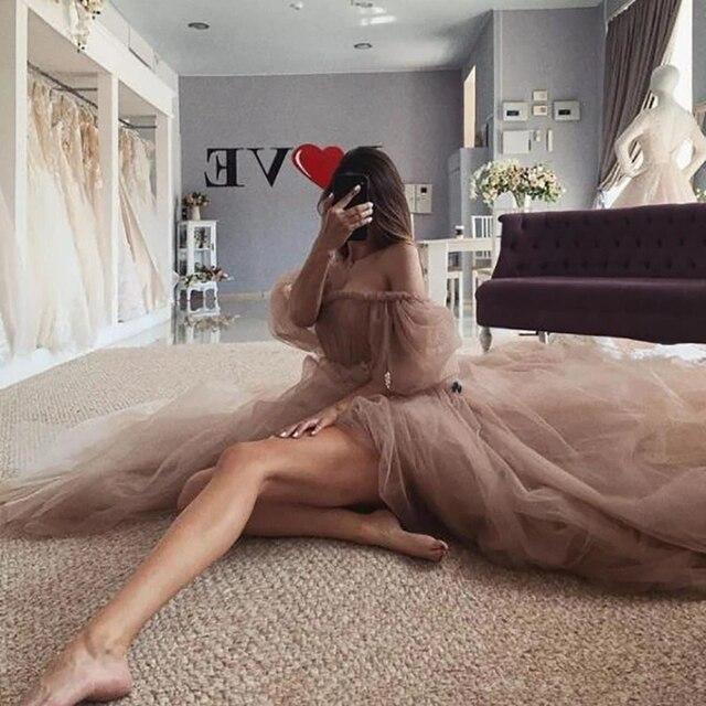 Old Pink Vintage Wedding Dresses 2021 Puff Long Sleeve Wedding Gowns Lace Fairy Bride Dress Boho Cheap China Vestido de Noiva 2