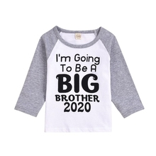 TAutumn Kids Clothes Baby Boys Girls Long Sleeve Letters Print T-Shirts Kids Tops Tees Shirts Casual Blouse girls plaid blouse 2019 spring autumn turn down collar teenager shirts cotton shirts casual clothes child kids long sleeve 4 13t