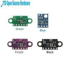 1 adet VL53L0X uçuş süresi (ToF) lazer değişen sensör çıkışı 940nm GY VL53L0XV2 lazer mesafe modülü I2C IIC
