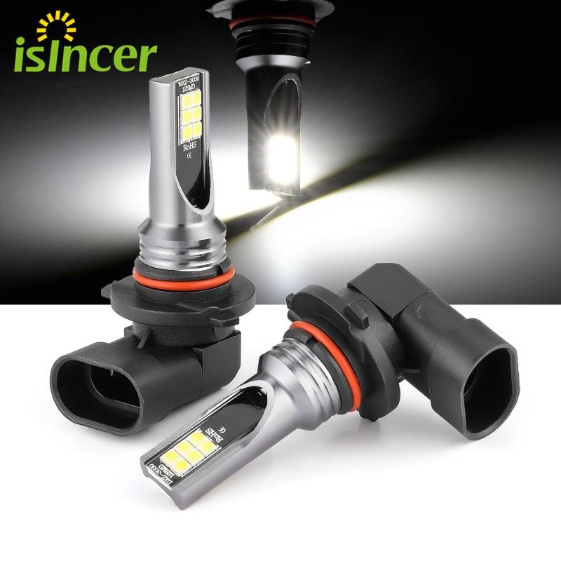 2 шт. H11 H8 H9 светодиодный автомобильный светильник s светодиодный лампы H1 H3 H4 H7 9005 9006, дневных ходовых огней светильник s туман светильник 6000K 12V...