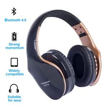 цена на Wireless Headphones Bluetooth Headset Foldable Stereo Headphone Gaming Earphones Support TF Card With Mic For PC All Phone Mp3