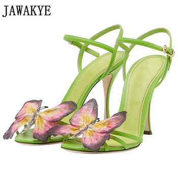 Hot Sexy Bowknot High Heels sweety girls shoes stilettos sandals  women 2020 Summer butterfly knot summer shoes female