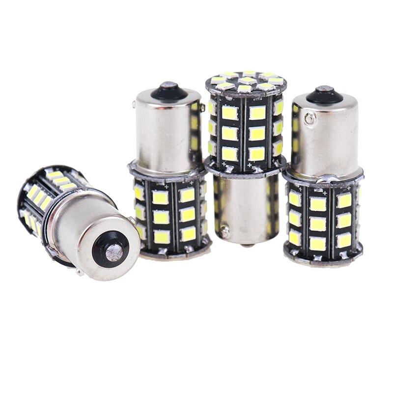 4 шт., высокое качество, 33 2835-SMD светодиодный фонарь, автомобильная задняя сигнальная лампа, авто резервный обратный светильник, белый, красны...