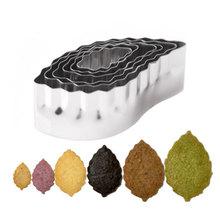6pcs/set Various Shape Multi-functional DIY Biscuit Cookies Mold  Set