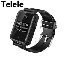 Telele V81 Voice Activate Covert Digital Voice Recorder Watch Hidden Music Player Pedometer Smart Wristband Stealth Dictaphone