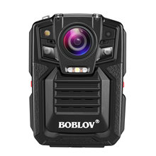 Boblov cyfrowa kamera do noszenia przy ciele HD1296P pętla DVR nagrywanie kamera bezpieczeństwa IR noktowizor poręczny Mini kamery 32GB kamera policyjna