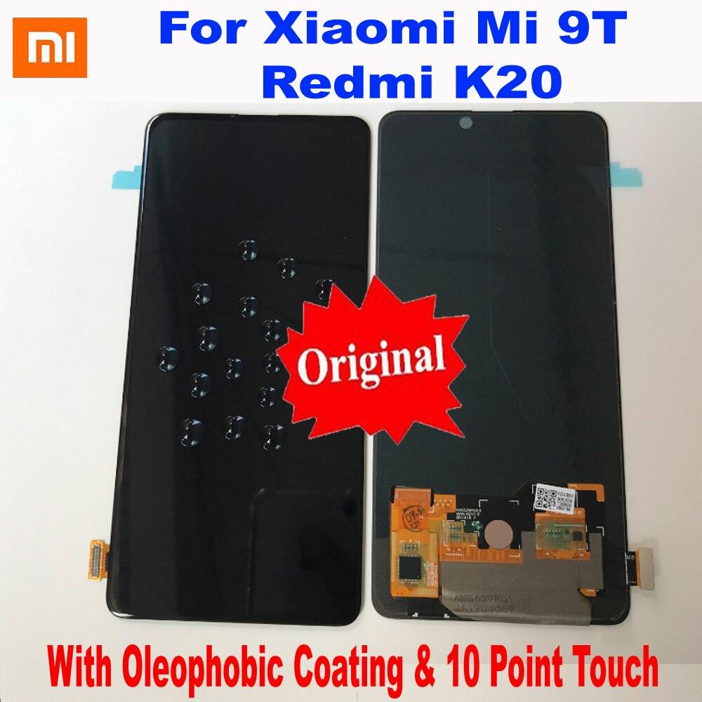 Original meilleur AMOLED pour Xiaomi Redmi K20 / Mi 9T Mi9T LCD affichage écran tactile numériseur assemblée pantalon