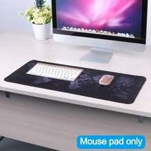 Большой Настольный коврик для мыши с клавиатурой 4 размера Противоскользящий