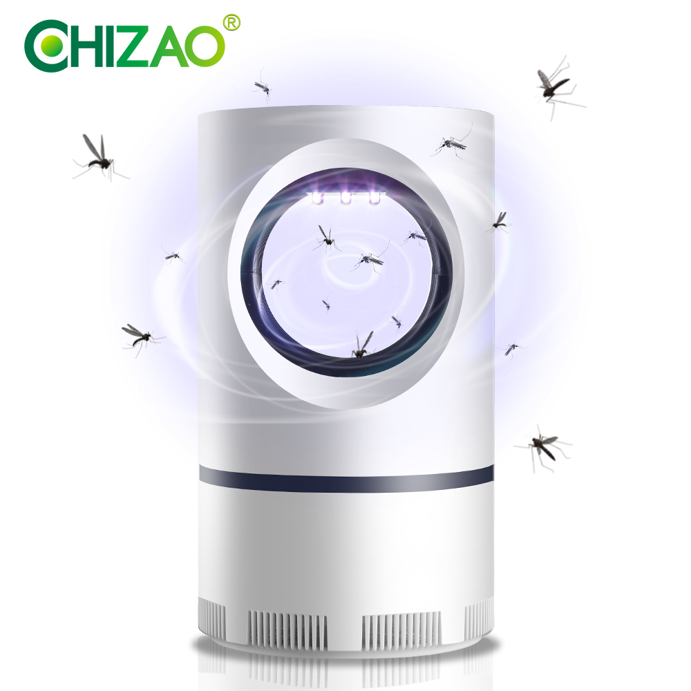 CHIZAO Mosquito Killer UV Light Traps Physical Mosquito Killing No Noise No Radiation USB Plug  Anti Mosquito Light Pest Control