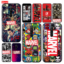 Marvel Avengers โลโก้สำหรับ Xiaomi Redmi 9A 9C 9 Prime GO 8A 8 7A 7 S2 6A 6 5 Pro plus Soft TPU ซิลิโคนโทรศัพท์กรณี