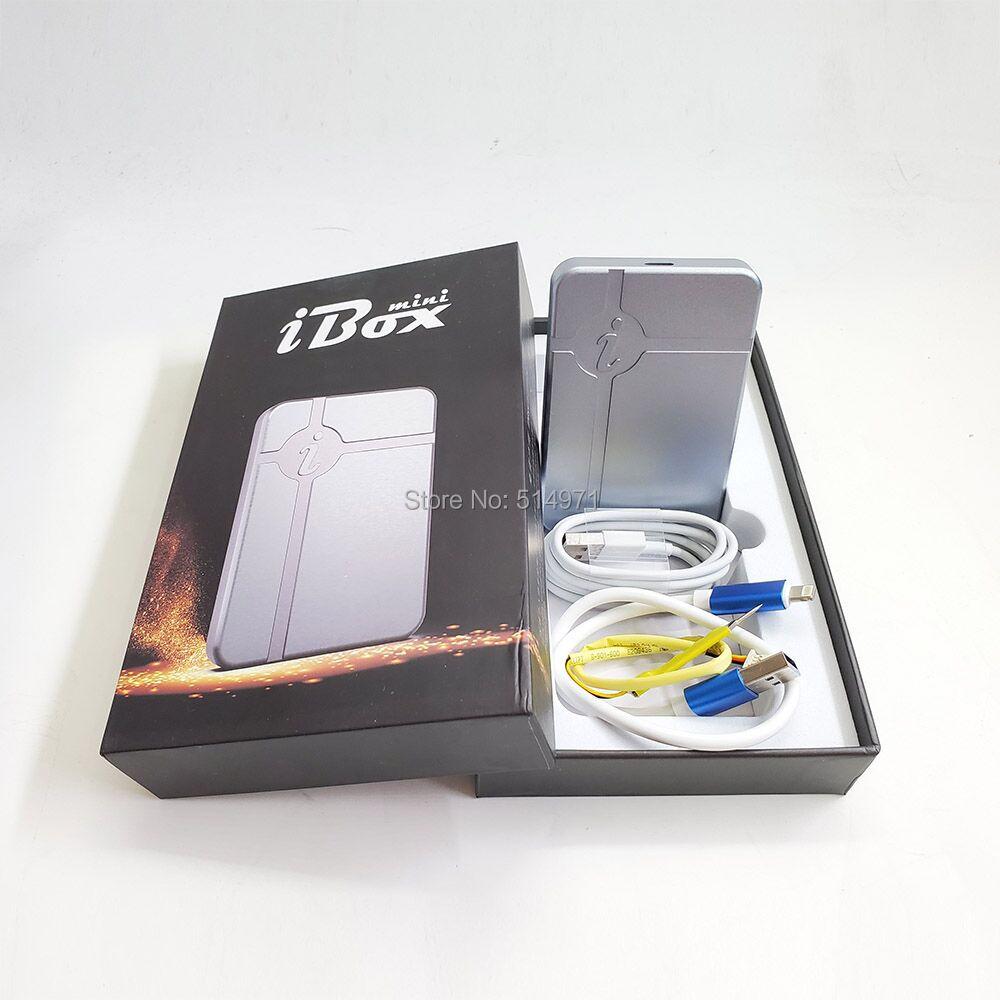 коробка iBox в ДФУ без демонтажа жесткого диска чтение запись изменение серийный номер для iPhone 6 7 8 х программирование для iPad
