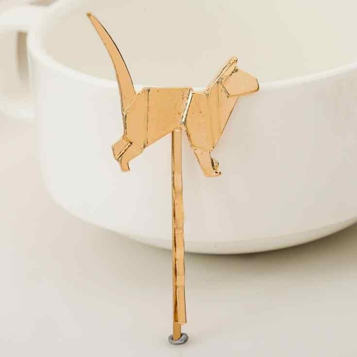 Hairpin สำหรับผู้หญิง Hearwear แมวสุนัข Unicorn Deer สัตว์หวานและหวานเด็กอุปกรณ์เสริมผมแฟชั่นของขวัญ Hairgrip Ha