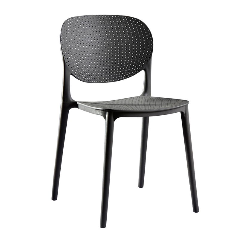 Nordic INS PP Plastic Dining Chair Restaurant Office Meeting Computer Chair Family Kitchen Learning Leisure Cafe Plastic Chair
