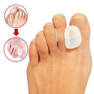Image 2 - 1pcs Alluce Valgo Correzione Toe Separator Raddrizzatore Foot Pain Relief Piedi Cura Correttore Grande Osso Plantari Pollice Pedicure