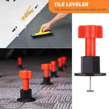 Heißer 75 Pcs Reusable Anti-Lippage Fliesen Nivellierung System Locator Tool Keramik Boden Wand Dropship