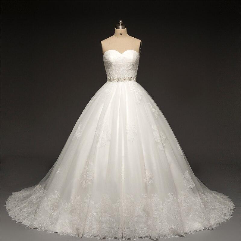 2018 Lace Bridal Gown With Jackets Vintage Robe De Mariage Beading Belt Romantic Vestido De Noiva Mother Of The Bride Dresses