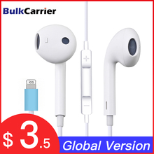 Eardphones with microphone for apple With Bluetooth function Support wire control Suitable for all models above Iphone 7 8 X 11