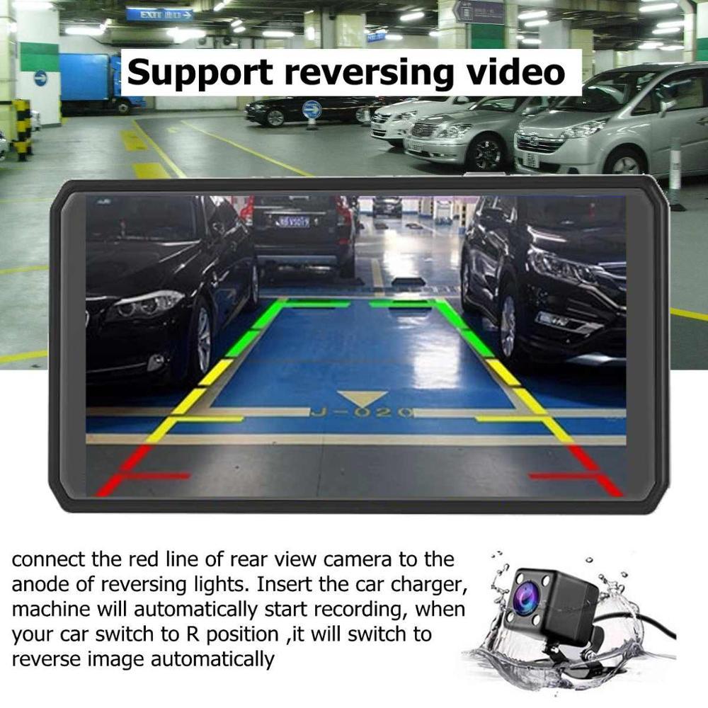 Maiyue stern Nieuwe 4,5 ''IPS Scherm Dash Kamera Volle HD 1080P Auto DVR Dash Cam Dual Objektiv Stick recorder auto Video Registrator