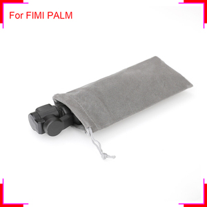 Portable Pocket Gimbal Storage Bag for FIMI PALM Handheld Gimbal Camera Flannel Protectional Cover for Mini Sport Video Camera