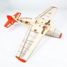 Model-Toys Rc-Airplane-Kit Fixed-Wing Fighter Wingspan-Light Remote-Control P51 1000mm