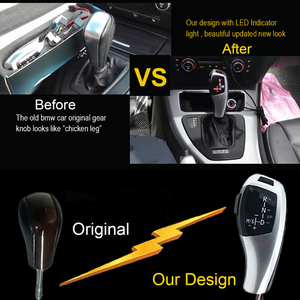 Image 5 - 車 LED マニュアルギアシフトノブヘッド bmw 1 3 5 6 シリーズ E90 E60 E46 E39 E53 E92 E81 e82 E84 E87 E88 E89 E93 E83 X3 X5 アクセサリー