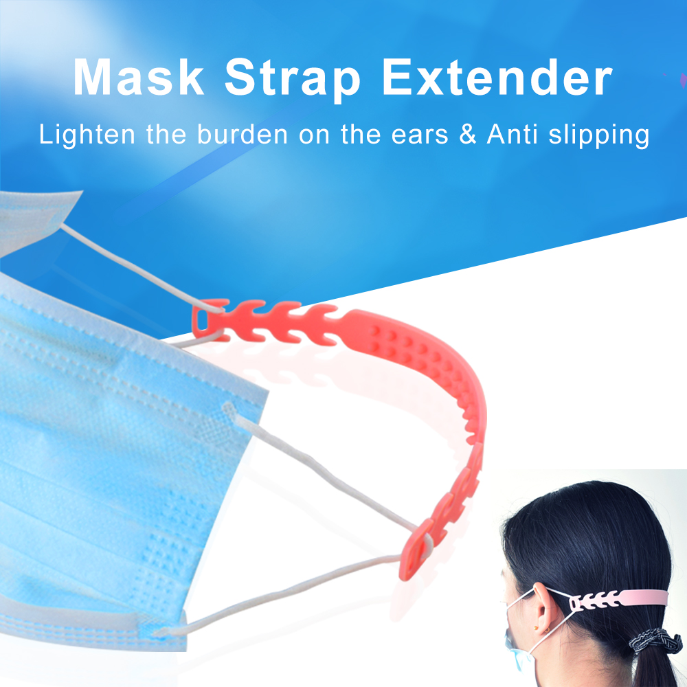 Mask Strap Extender Size Adjustment Buckle 3pcs Third Gear Adjustable Anti-slip Mask Ear Grips Extension Hook P3