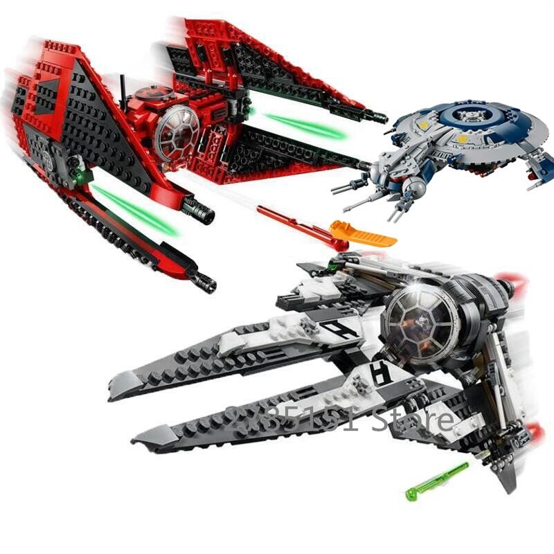 In Stock 748pcs 75240 Super Heroes StarWars First Order Poe X-Wing Star Fighter Building Blocks With