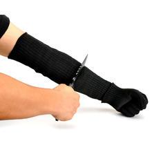 Arm Protection Sleeve Cut Resitant 40cm Burn Resistant Anti Abrasion Safety Arm Guard for Garden Kitchen Yark Work