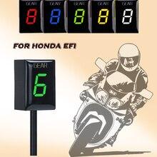 Indicador de Marchas de Motocicleta Impermeable LED Display para Honda CB500X CB400SF CB650F CB 1300 400 CBF500 CBR300 NC400X VT400 VFR800 vt750
