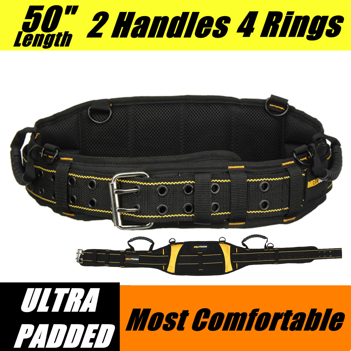 Multi-function Electrician Tool Bag Waist Pocket Waist Reduce Weight-Bearing Tooling Strap Kit Belt Storage Holder Organizer