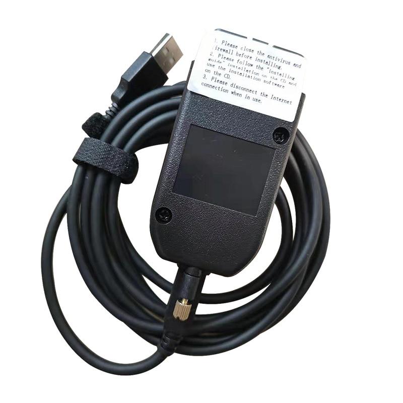 Main Test Diagnostic Cable For Car OBD2-OBDII-USB-interface 2nd 19.6  ATMEGA162+16V8B+FT232RQ