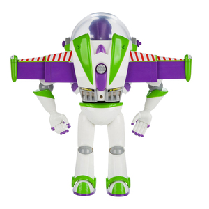 Image 3 - 43cm Toy Story 4 Buzz Lightyear Toy Story Talking Lights Speak English Joint Movable Action Figure Anime Collectible Doll