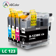 4PK LC123 For Brother LC123 lc 123 LC123Bk Ink Cartridge For Brother MFC-J4410DW MFC-J4510DW MFC-J650DW DCP-J4110DW Printer einkshop lc10 lc37 lc51 lc57 lc960 lc970 lc1000 ink catridge for brother dcp 130c dcp 330c 340cn mfc 685cw mfc 845cw mfc 885cw