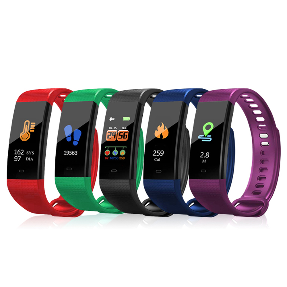 Smart Wrist Watch Waterproof Fitness Sports Bracelet Men Women Blood Pressure Heart Rate Monitor Sleep Monitor for Android iOS