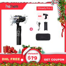 hohem iSteady Pro 2 3 Axis Handheld Gimbal for DJI Osmo Action Camera Stabilizer for GoPro Hero 7/6/5/ Sony RX0 Sports Camera