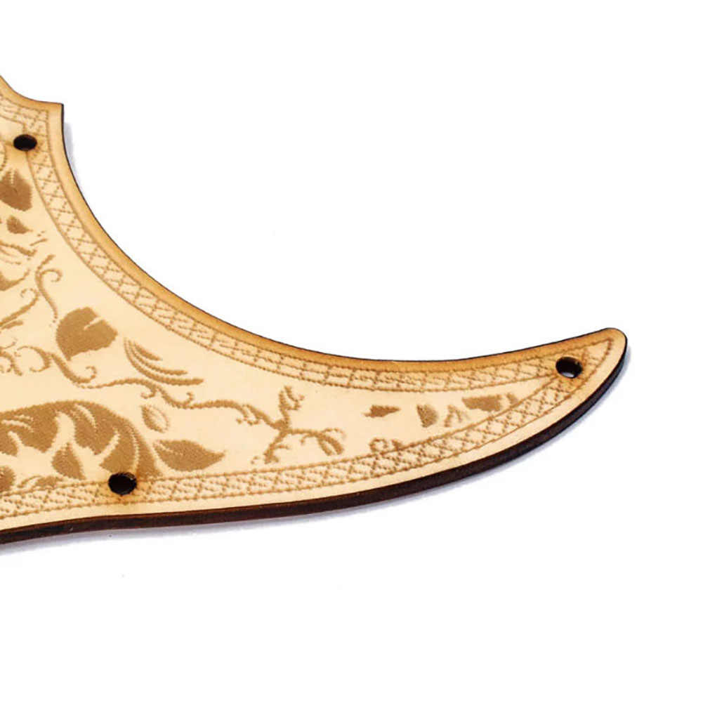 Houten Gitaar Slagplaat Maple Hout Met Decoratieve Bloem Patroon Gitaar Guard Voor Fender St Elektrische Gitaren Onderdelen